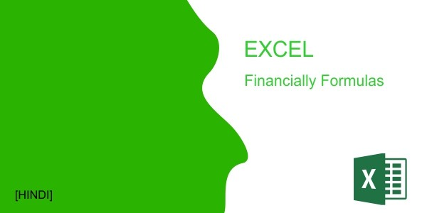 EXCEL FINANCIAL FORMULAS